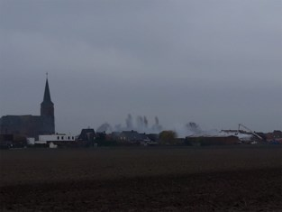 Brand in loods in Sint-Laureins: naburig schooltje geëvacueerd