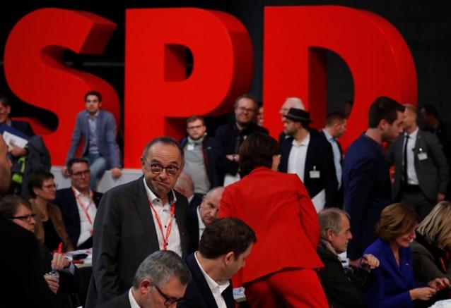 SPD stapt niet onmiddellijk uit Duitse regering