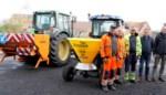Ruim Zesenzestigduizend euro voor tractor, zoutstrooier en sneeuwschuif