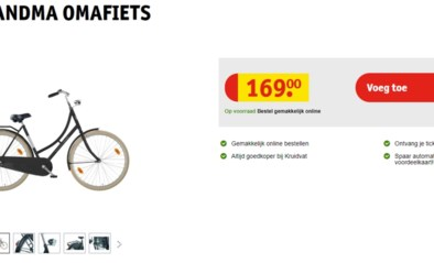 Kruidvat verkoopt fiets die in ons land de weg niet op mag