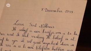 Brieven aan de Sint waren ook in 1949 al schattig: