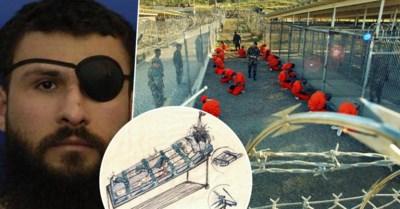 Met woorden alleen krijgt hij de pijn niet uitgelegd: gevangene Guantanamo Bay maakt tekeningen van hoe hij gefolterd werd