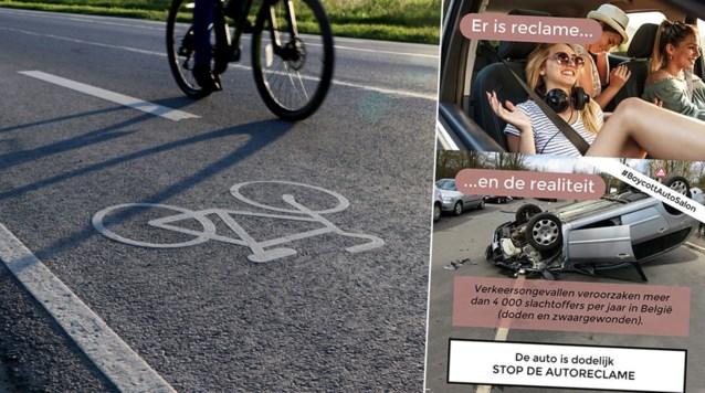 Advertenties voor auto's liggen onder vuur: Fietsersbond en milieuverenigingen vragen om een totaalverbod
