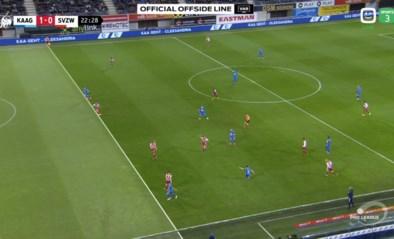 Niet één, niet twee maar drie afgekeurde goals in Gent-Zulte Waregem