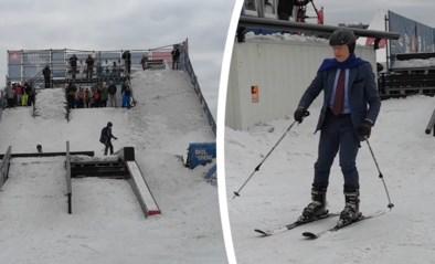 Bart De Wever opent Belgisch ski- en snowboardkampioenschap met vlotte afdaling… in maatpak
