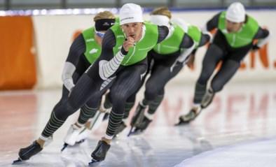 Mathias Vosté houdt stand tussen het Nederlandse schaatsgeweld en levert topprestatie af