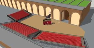 Ros Beiaardcomité bespreekt voorstel om tribunes te plaatsen als paard weer op stal gaat