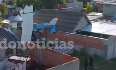 Belgische piloot neergestort op woning in Argentinië