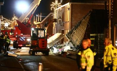 Kenan (5) na 5 uur bevrijd van onder ingestort restaurant in Nederland