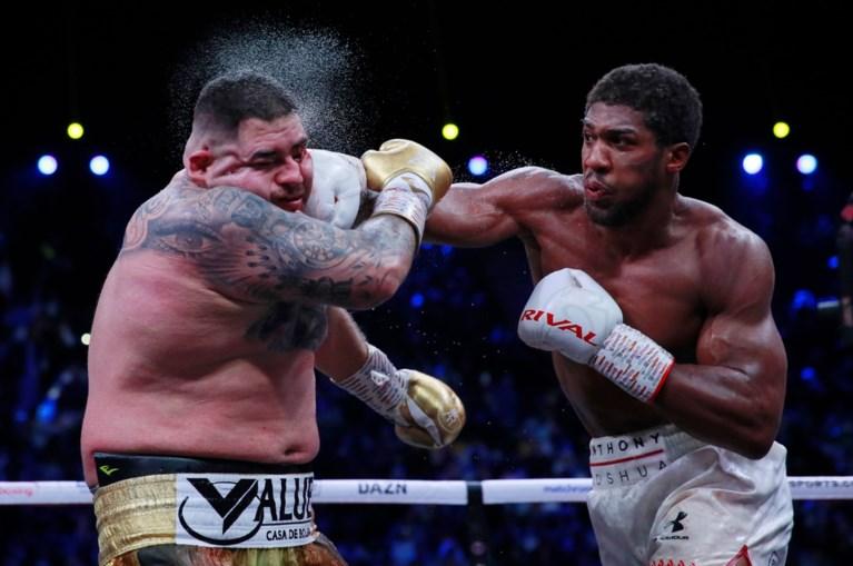 Anthony Joshua heeft revanche beet tegen Andy Ruiz en pakt wereldtitel bij 4 (!) verschillende boksbonden