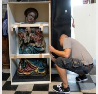 Uniek beeld Maria Magdalena tijdelijk verhuisd naar Leuvens museum