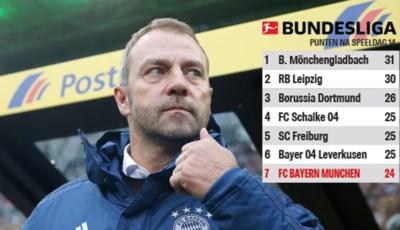 Flick krijgt het niet geflikt: Bayern München zakt onder interim-coach steeds verder weg