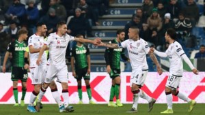 Cagliari en Nainggolan vermijden op de valreep nederlaag bij Sassuolo