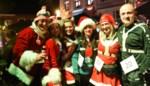 Santa Run zet kerstmannen aan het lopen