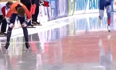 """Hoe een """"krankzinnige"""" schaatswedstrijd leidde tot duizeligheid en oververhitting: """"Ineens werd het zwart voor m'n ogen"""""""