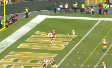 Catch of the Year? NFL-speler vangt touchdown met heuse circus-pirouette