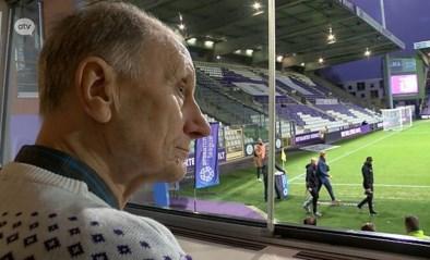 Nog één keer op het Kiel voor de euthanasie: Leo (89) neemt afscheid met 'zijn' Beerschot