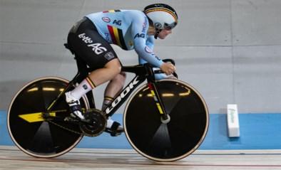 Nicky Degrendele haalt tweede ronde keirin niet op wereldbeker baanwielrennen in Cambridge