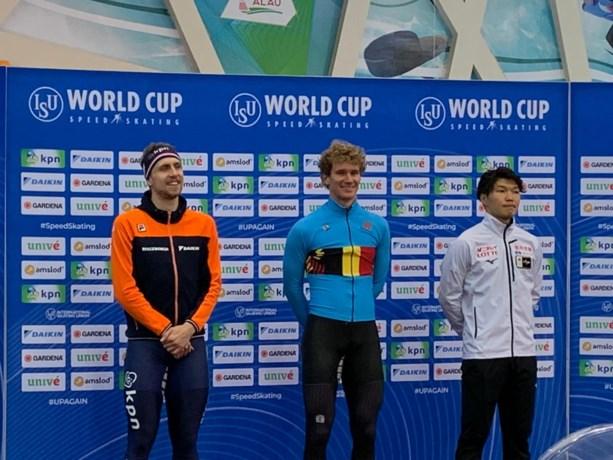 Mathias Vosté blijft scoren op wereldbeker schaatsen in Kazachstan