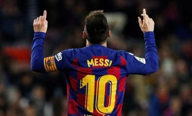 Geen duel tussen Lionel Messi en Romelu Lukaku