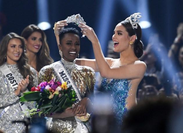Zuid-Afrikaanse is nieuwe Miss Universe, Belgische Angeline Flor Pua niet in top 20