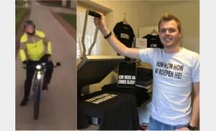 Jonge ondernemer zet sappige uitspraken van boze Kempense fietser op T-shirts