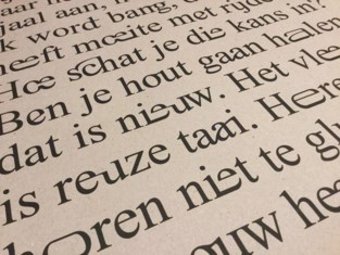 Walda (51) wil iedereen vlotter leren lezen, en introduceert daarvoor nieuw lettertype