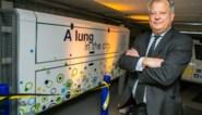 """Parking met properste lucht van België ligt in hartje Antwerpen dankzij 'kunstmatige long': """"Bijna helft minder fijn stof"""""""
