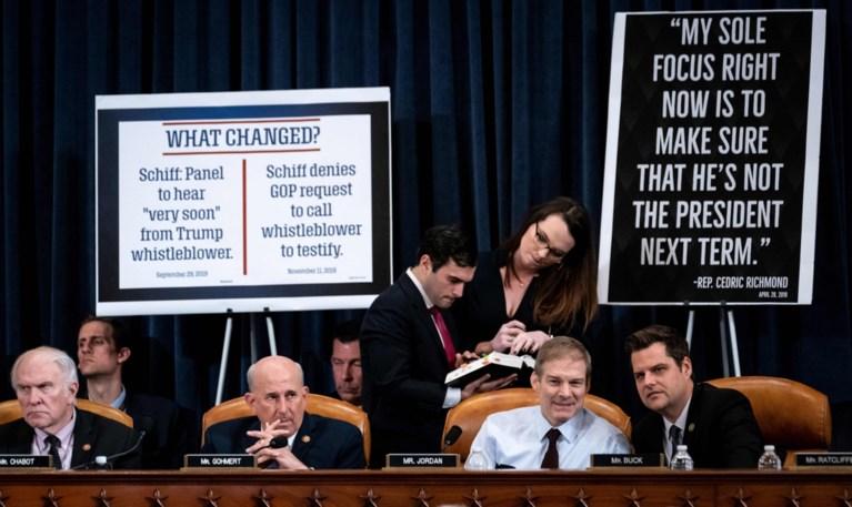 Impeachmentonderzoek tegen Trump: bitsige debatten in Huis van Afgevaardigden
