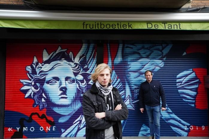 Slimme zet tegen illegale graffiti: gratis spuitbussen om echt kunstwerk op muur of rolluik te laten spuiten