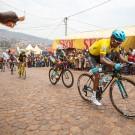 De Ronde van Rwanda met aankomst op de Muur van Kigali.