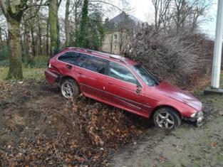 BMW ramt haag, inzittenden vluchten