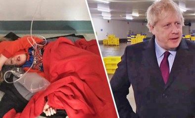 Jongen op ziekenhuisvloer doet Britse premier even wankelen, maar gelekte tape legt bommetje onder Labour