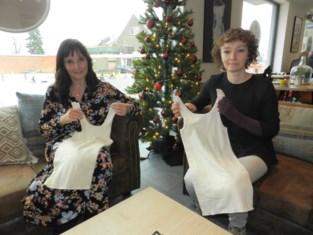 Nancy en Sandra (46) maken kleren voor vrouwen die een borst lieten weghalen