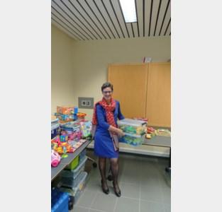 Inwoners schenken speelgoed aan OCMW