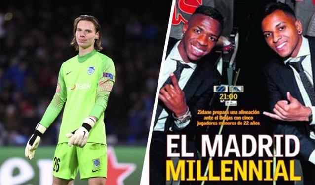 """Blunder Genk-doelman gaat de wereld rond, in Spanje zien ze match tegen """"onbeduidend"""" Club Brugge vooral als kans voor jongeren"""