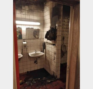 Jeugdhuis De Vonk blijft week dicht na brand