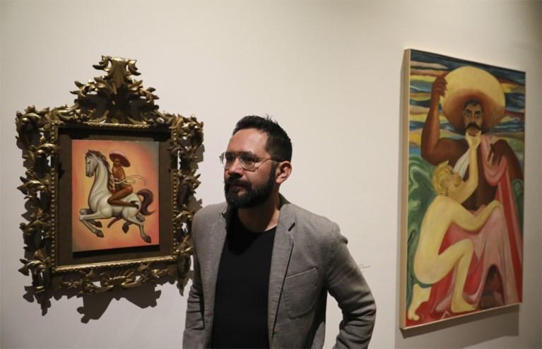 Schilderij met 'gay'-versie van Mexicaanse volksheld Zapata wekt woede: fans en familie bestormen museum