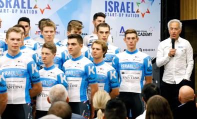 Israel Start-Up Nation kiest voor wit met blauwe streep