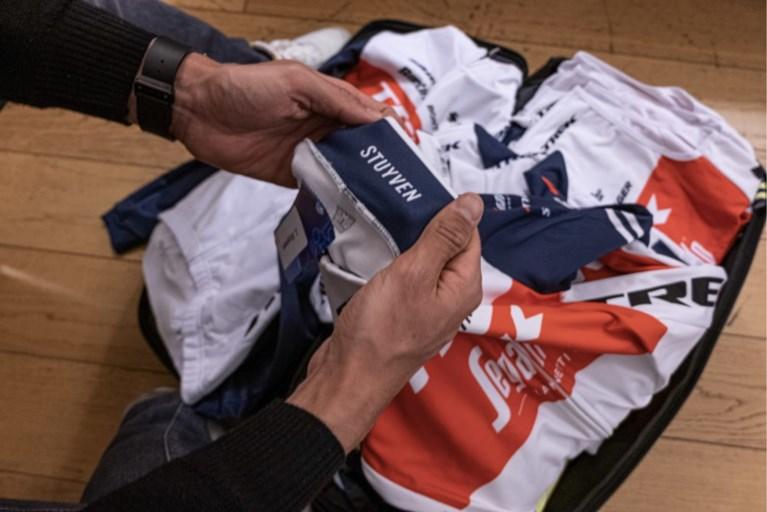 Gerecycleerd shirt voor Jasper Stuyven bij Trek-Segafredo