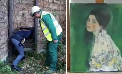 Schilderij van wereldberoemde schilder Klimt duikt na 23 jaar op in vuilniszak