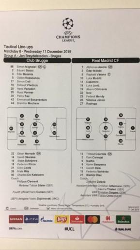 Philippe Clement verrast: Vlietinck in de basis tegen Real Madrid, ook Tau en Kossounou starten bij Club Brugge