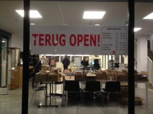 Bibliotheek terug open