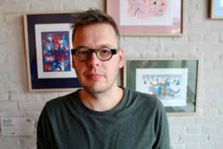 """Kunstenaar David (41) wil met project dementie onder de aandacht brengen: """"In de zeefdrukken leeft mijn moeder verder"""""""