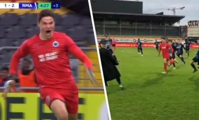 U19 Club Brugge spelen gelijk tegen Real Madrid in Youth League na kopbalgoal van doelman in slotseconden