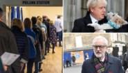"""De vierde keer in vier jaar voor de Britten, maar toch lange rijen voor """"belangrijkste verkiezing in een mensenleven"""""""