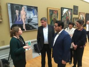 Jambon geeft Van Eyck-expo duwtje in de rug