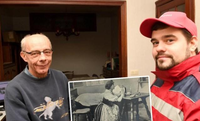 """Postkaart komt na 110 jaar bij kleinzoon terecht: """"Je kan niet geloven hoe gelukkig ik ben"""""""