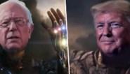 Donald Trump wordt superschurk in campagnevideo, Bernie Sanders slaat terug als Iron Man