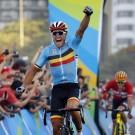 Greg Van Avermaet kroonde zich in 2014 tot Olympisch kampioen op de wegrit.